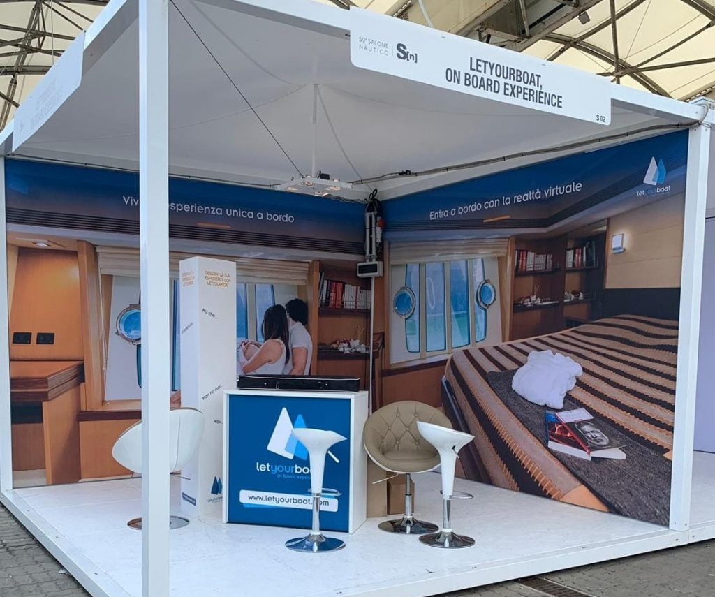Stand Letyourboat Salone Nautico