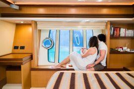 emozioni in barca, dormire in barca