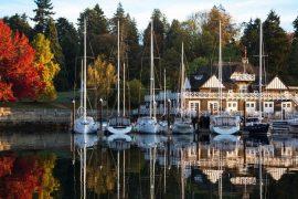 Autunno in barca, dormire in barca in autunno