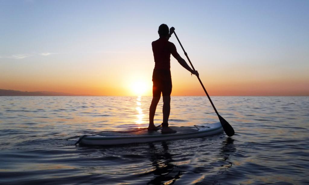Regali di Natale per appassionati di mare e nautica, tavola da paddle