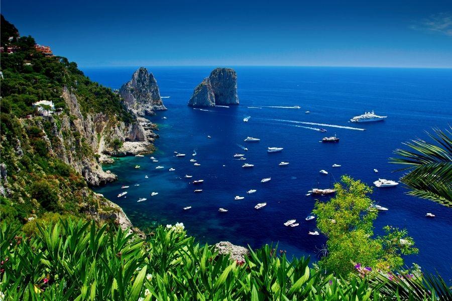 vacanze in barca, Napoli