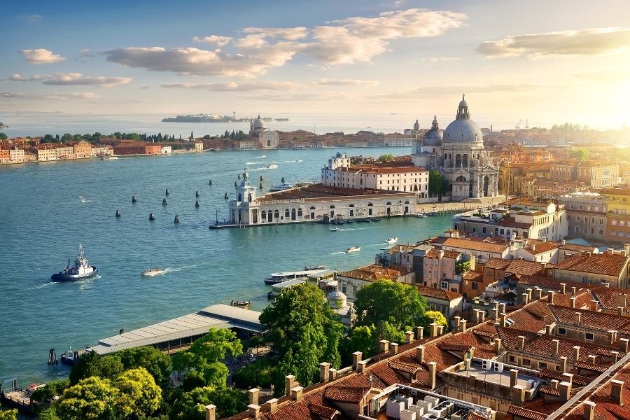 vacanze in barca, venezia
