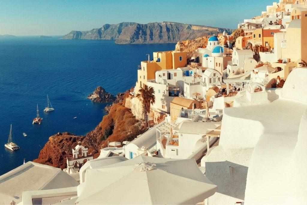 isole greche in barca