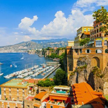 Marina Piccola Sorrento: une terrasse au coeur de la péninsule de Sorrente