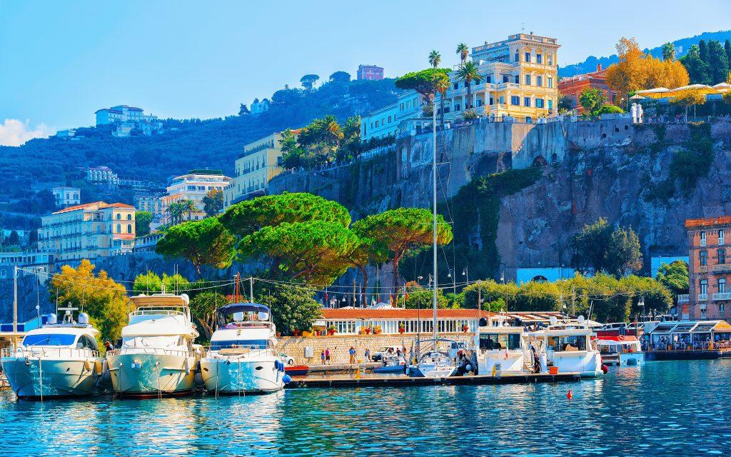 Touristenhafen Sorrento