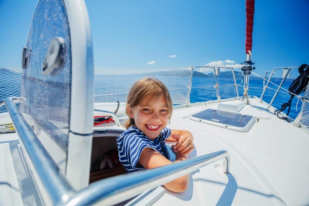 vacanza in barca con i bambini