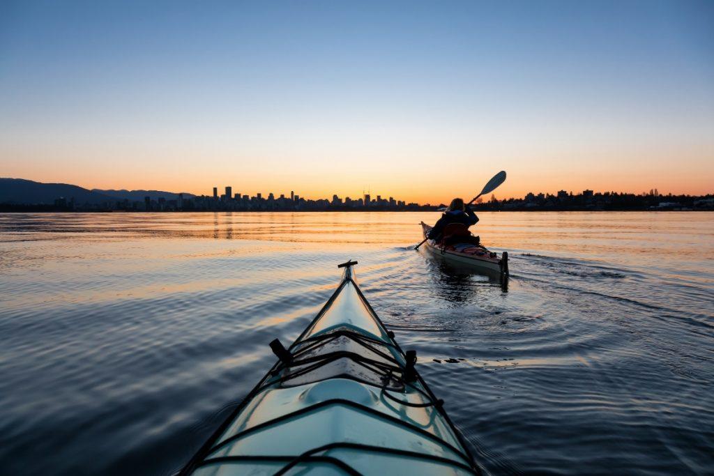 esperienze turistiche, kayak cinque terre