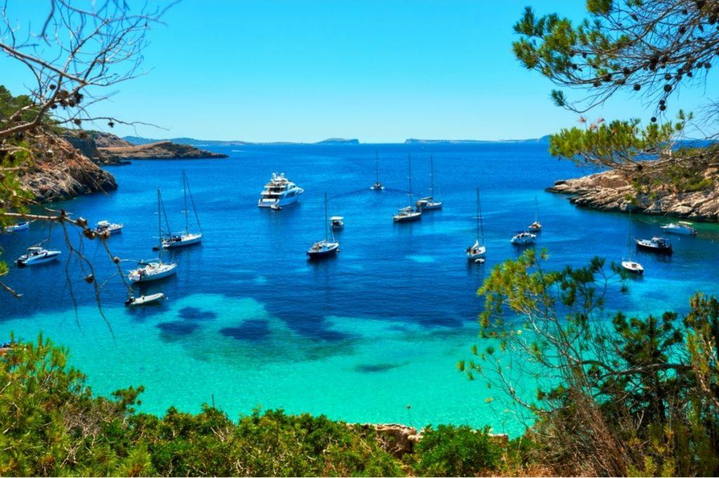 Bootsurlaub auf den Balearen, boote