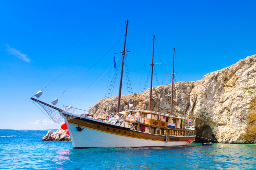 Croazia in barca, catamarano