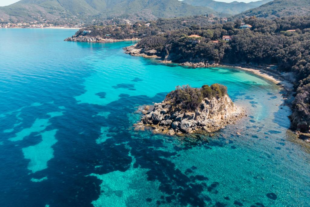 Tuscany on boat, archipelago