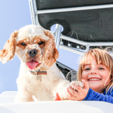 Vacanza in barca con il tuo amico a 4 zampe